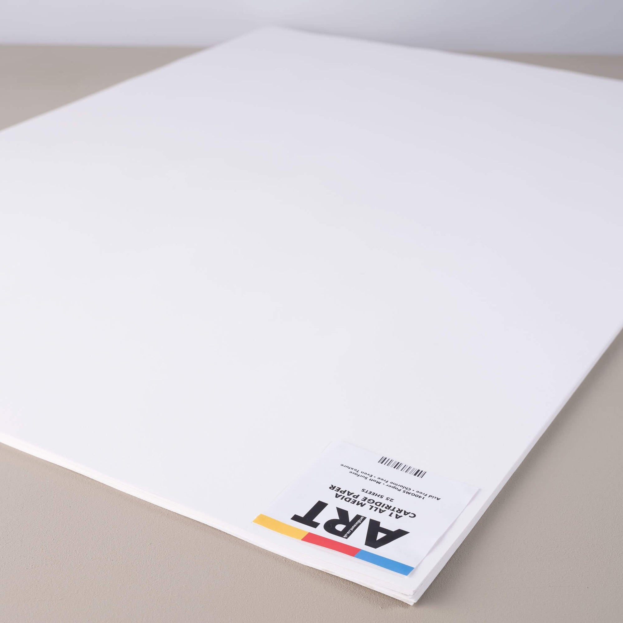 ARTdiscount Cartridge Paper Pack A1 - 25 Sheets