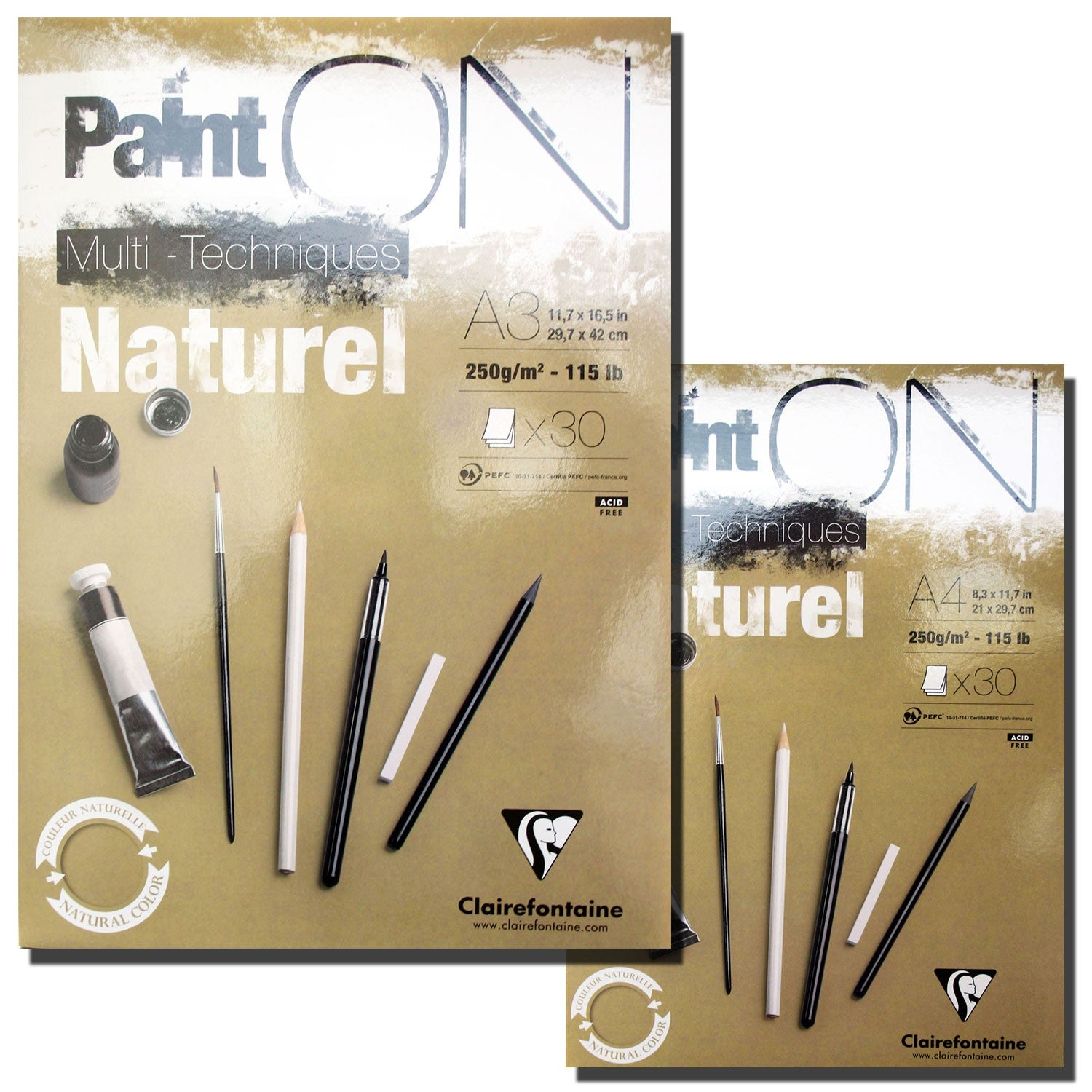 Paint On Multi-Techniques Naturel Pads