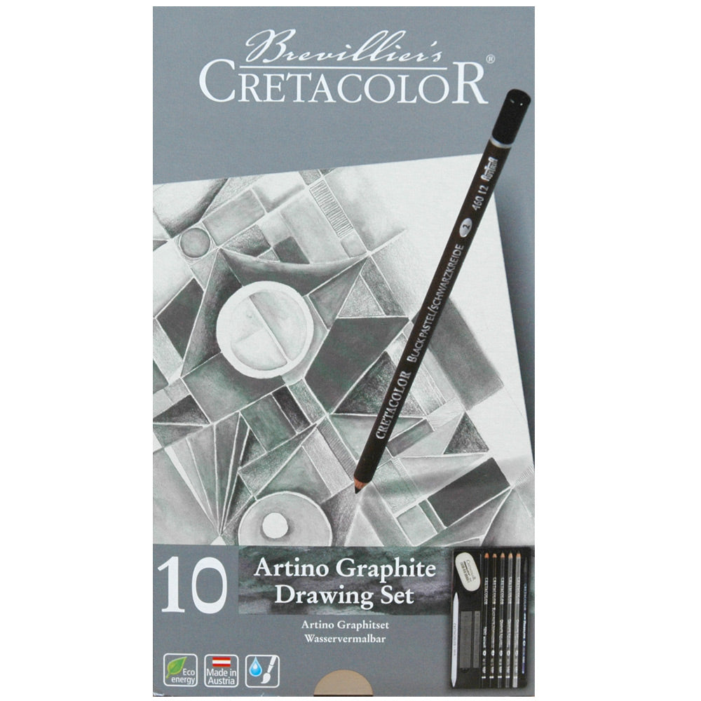 Cretacolor Artino Watersoluble Graphite Set