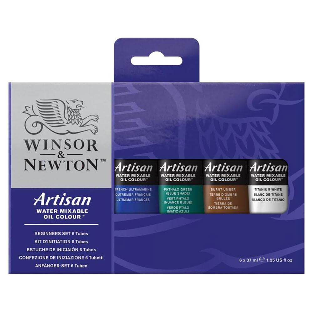 Artisan Water Mixable Oil Colour - Beginners Set