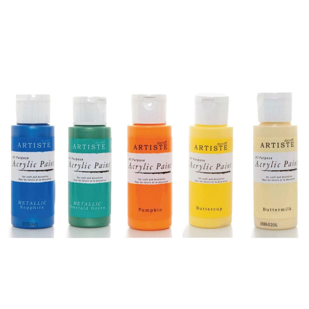 Docrafts Artiste Multi-Surface Acrylic Paint - 59mls