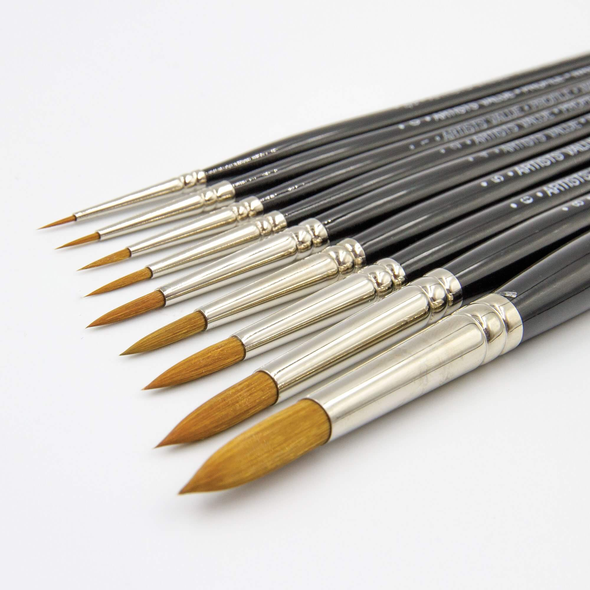 ARTdiscount Artists Value Profile Brushes - Round