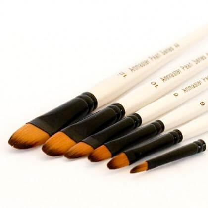 Artmaster Pearl Brush Filbert Series 44