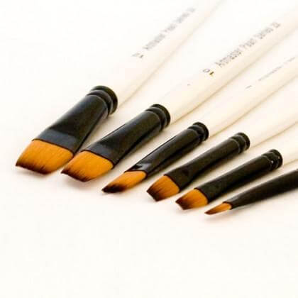 Artmaster Pearl Brush Flat Series 22
