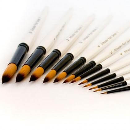 Artmaster Pearl Brush Round Series 11