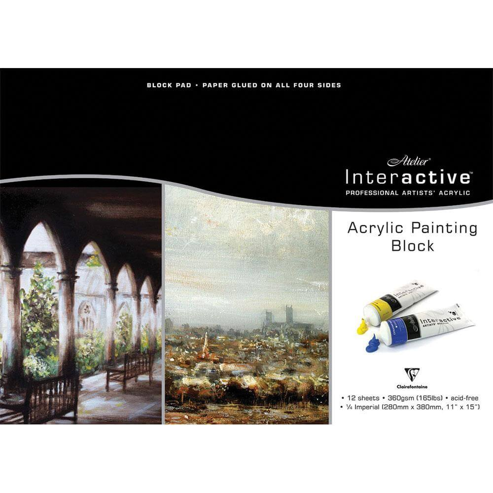 Atelier Interactive Acrylic Blocks