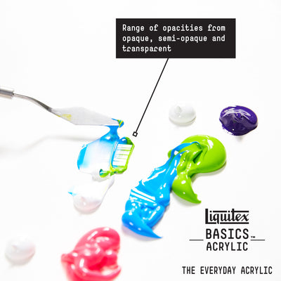 Liquitex BASICS Acrylic - 118ml Tubes