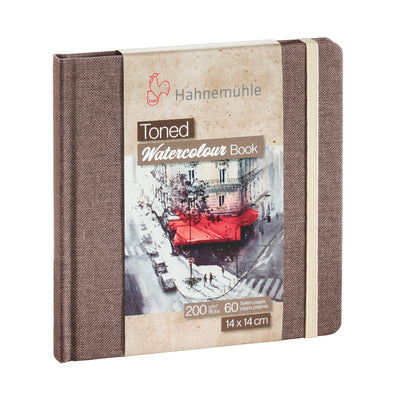 Hahnemühle 'Toned' Watercolour Books - Beige 200gsm (95lb)