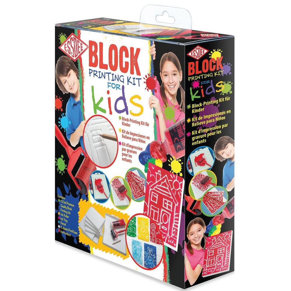 Essdee Block Printing Kits For Kids