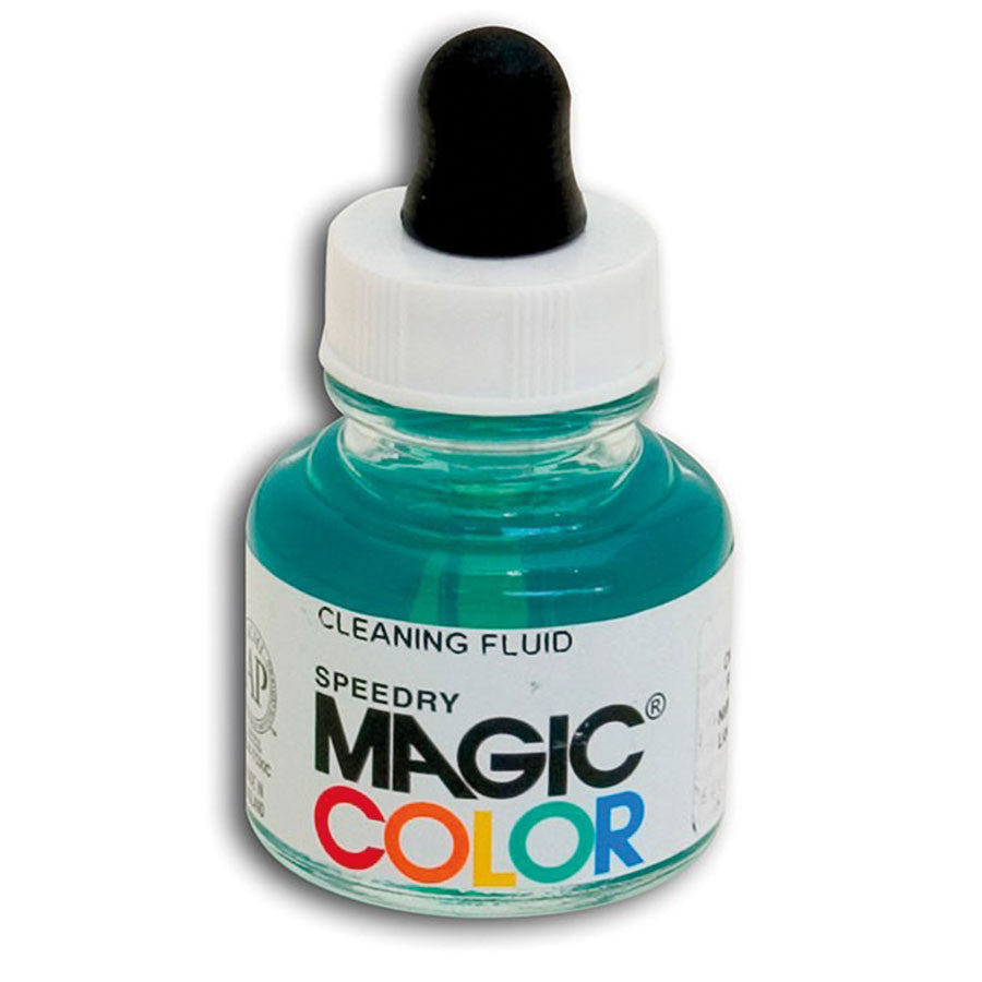 MAGIC COLOR Liquid Acrylic Mediums 28ml Jars - Cleaning Fluid