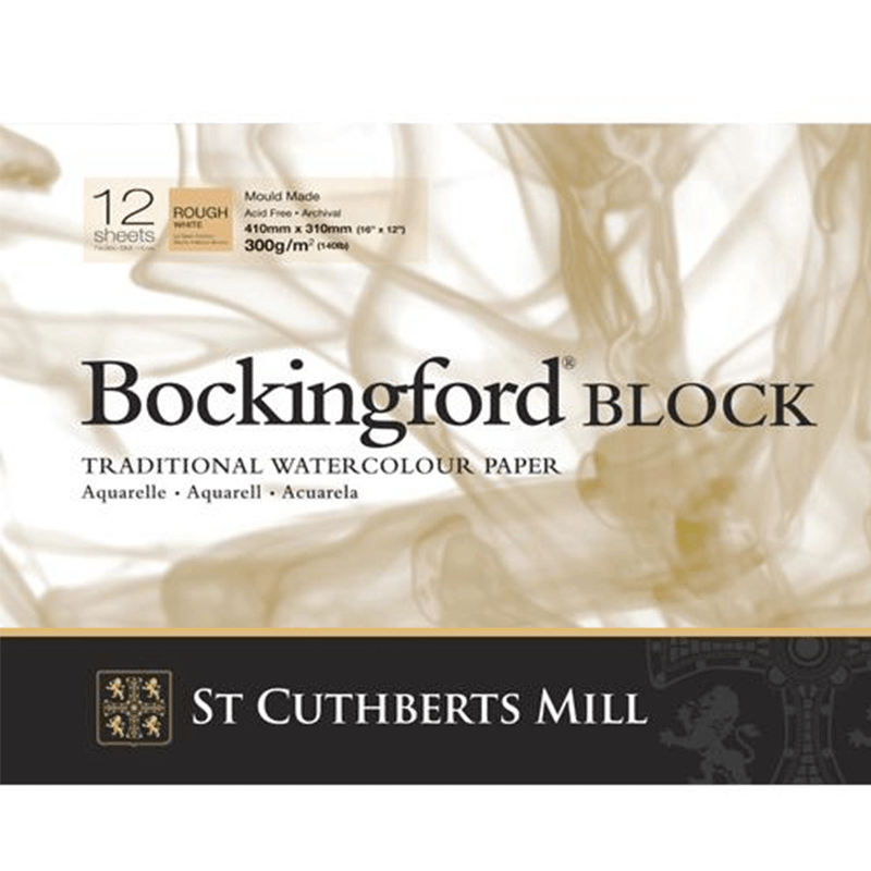 Bockingford Watercolour Blocks 140lbs / 300gsm ROUGH
