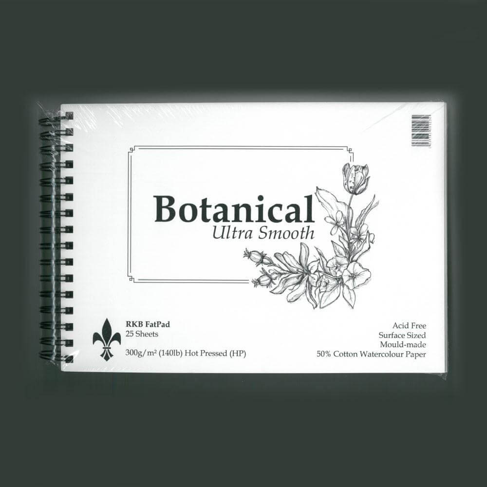 Botanical Ultra Smooth Water Colour Paper FAT PADS - 300g/m (140b) - HP