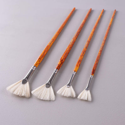 ARTdiscount Bristle Brushes - Fan