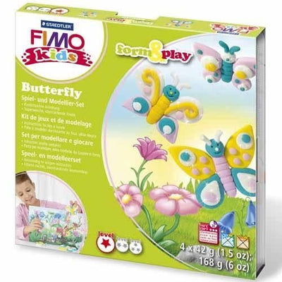 Fimo Kids Form and Play Butterfly Set