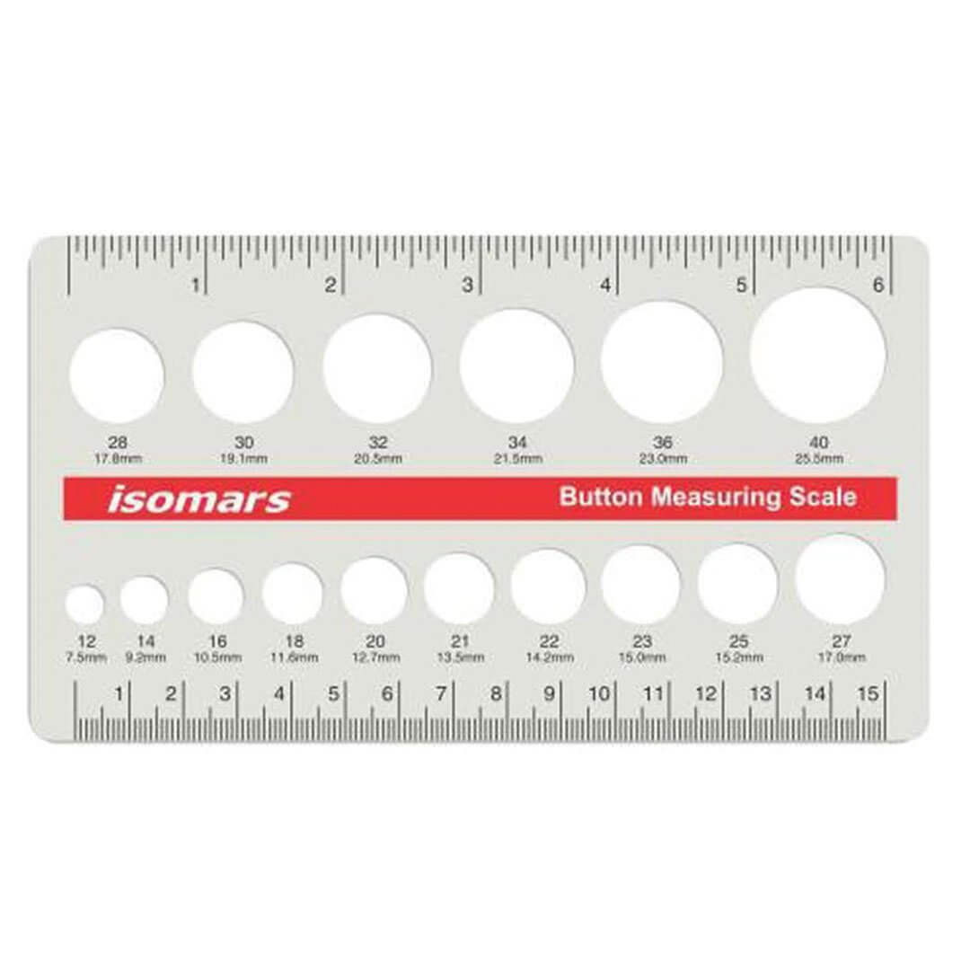 ARTdiscount ISOmars Button Measuring Scale