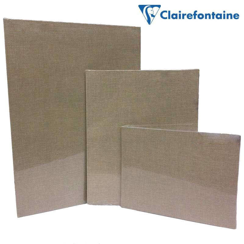 Canvas Board with transparent coating