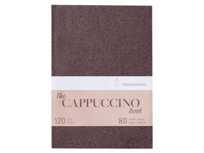 The Hahnemühle 'Cappuccino' Book - 120gsm - 80 Pages