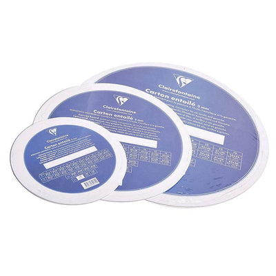 Clairefontaine Round Canvas Boards