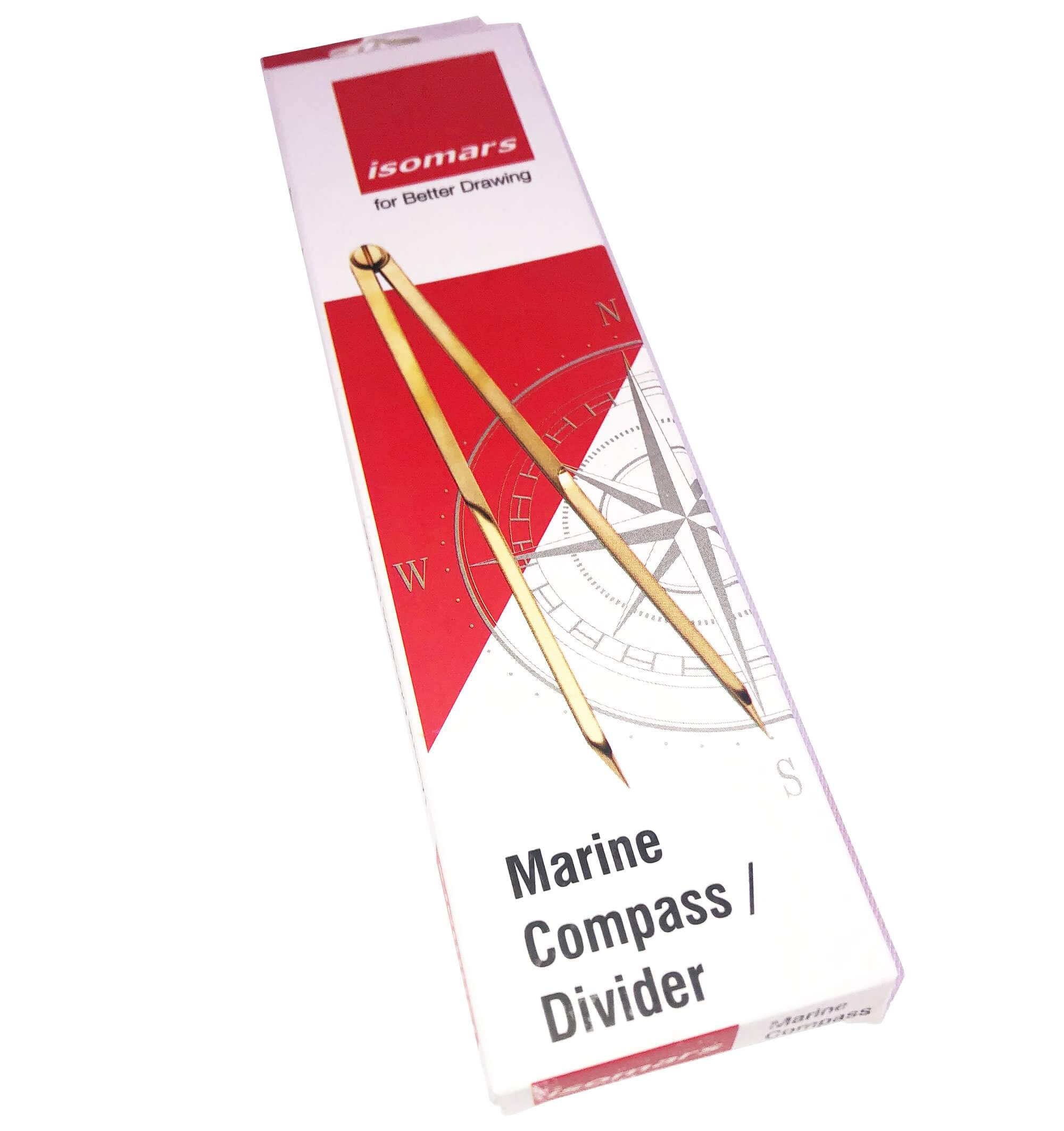 ARTdiscount ISOmars Marine/Nautical Divider - Brass with SS Point