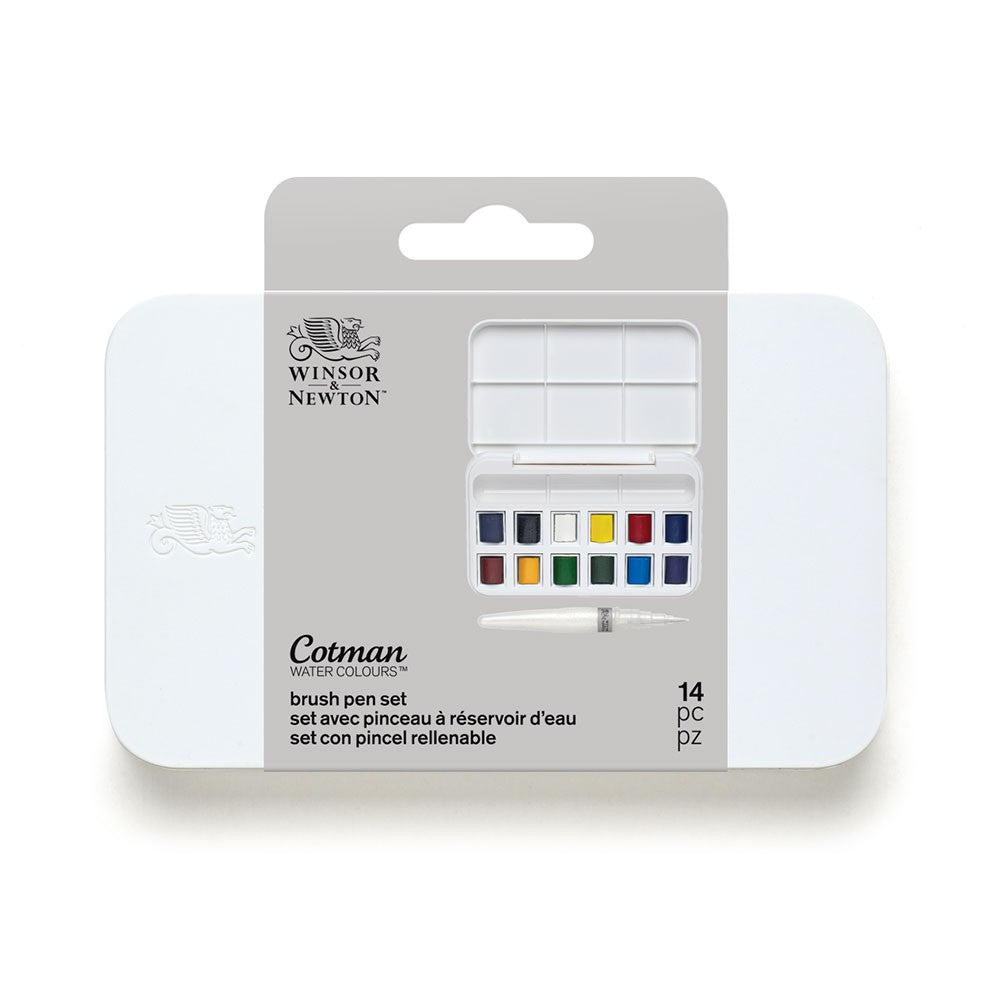 Winsor & Newton Cotman Brush Pen Set