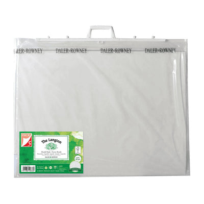 "Daler-Rowney Carry Bag and The Langton Watercolour Paper - 30 x 22"" - Packs of 5"