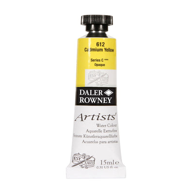 Daler Rowney Artists Watercolour 15ml Tubes - Series A & B