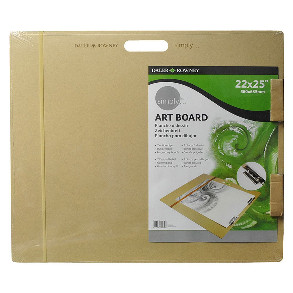 "Daler-Rowney Simply Art Board - 22 x 25"" (560 x 635mm)"