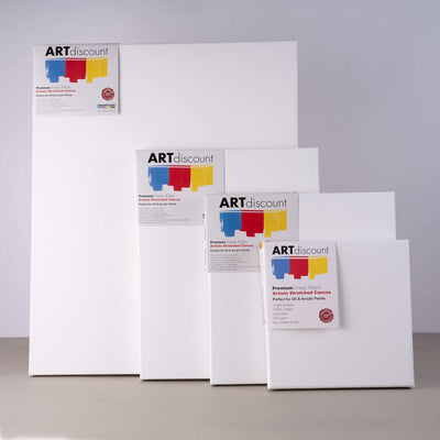 ARTdiscount PREMIUM Deep Edge Stretched Canvases
