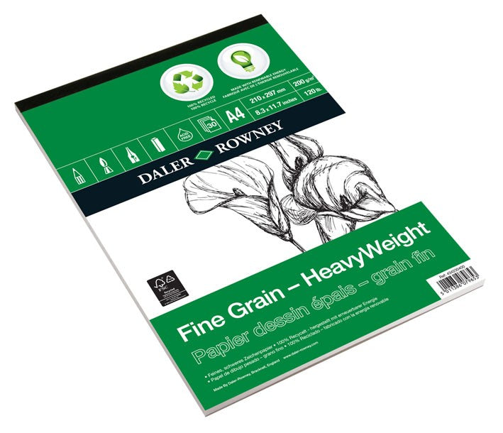 Daler Rowney ECO Fine Grain Heavyweight Cartridge Pads