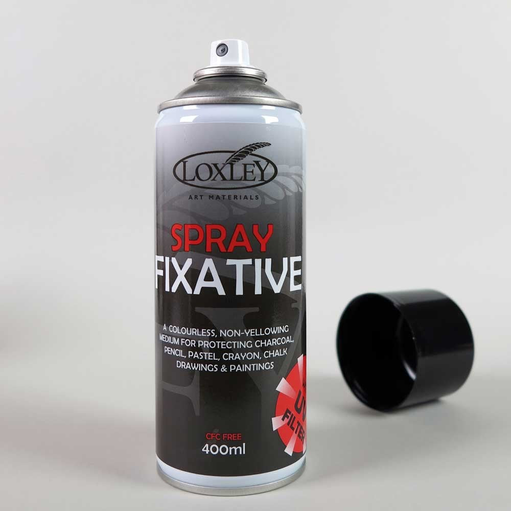 Loxley Aerosol Fixative 400ml with a U.V. Filter