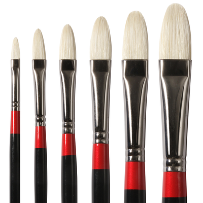 Georgian Filbert Brushes G12