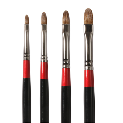 Georgian Sable Filbert Brushes G67