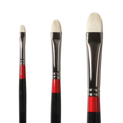 Georgian Short Filbert Brushes G18