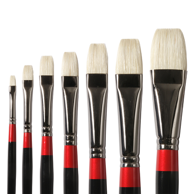 Georgian Short Flat Brushes G36