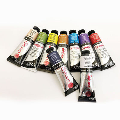 Daler Rowney Georgian Oil Colour Tubes - 38ml