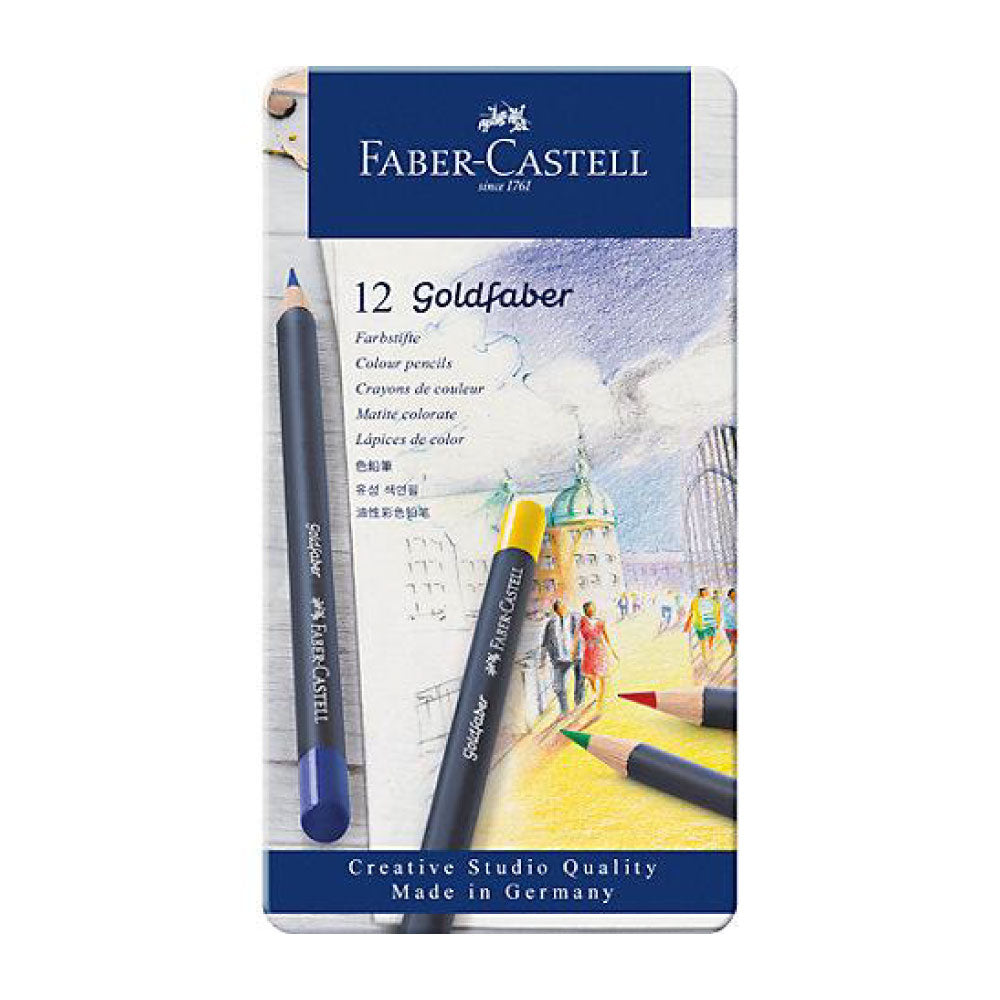 Faber-Castell Goldfaber Coloured Pencils