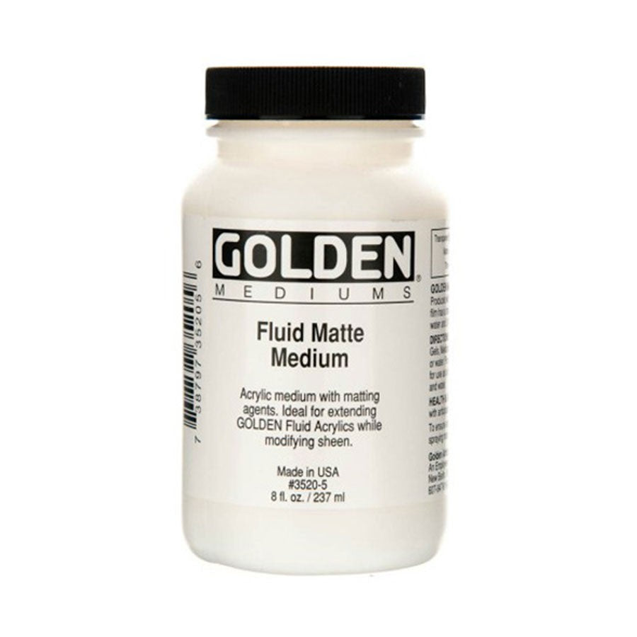 GOLDEN Fluid Matte Medium 237ml
