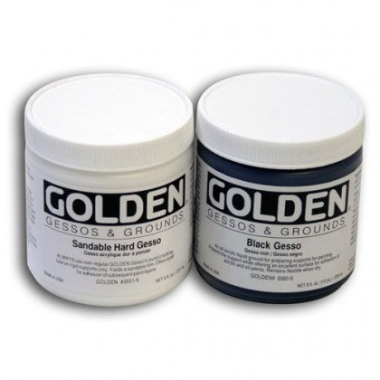 GOLDEN Black Gesso 236ml