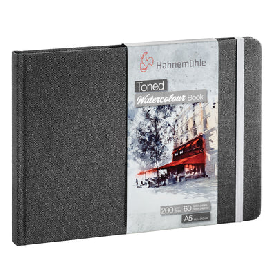 Hahnemühle 'Toned' Watercolour Books - Grey