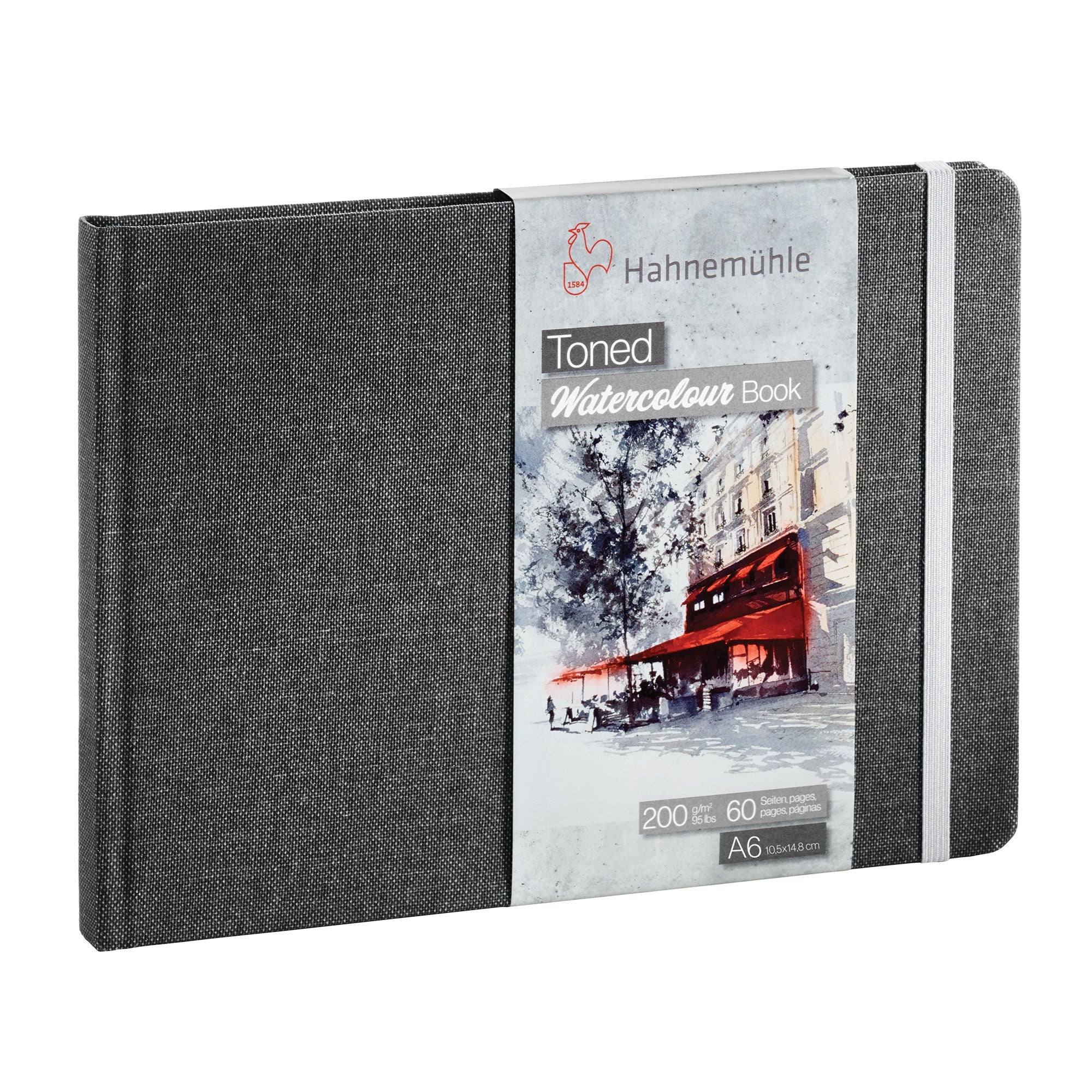 Hahnemühle 'Toned' Watercolour Books - Grey 200gsm (95lb)