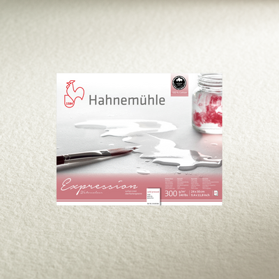 Hahnemühle 'Expression' Watercolour Blocks - Cold Pressed - 20 Sheets - 300gsm