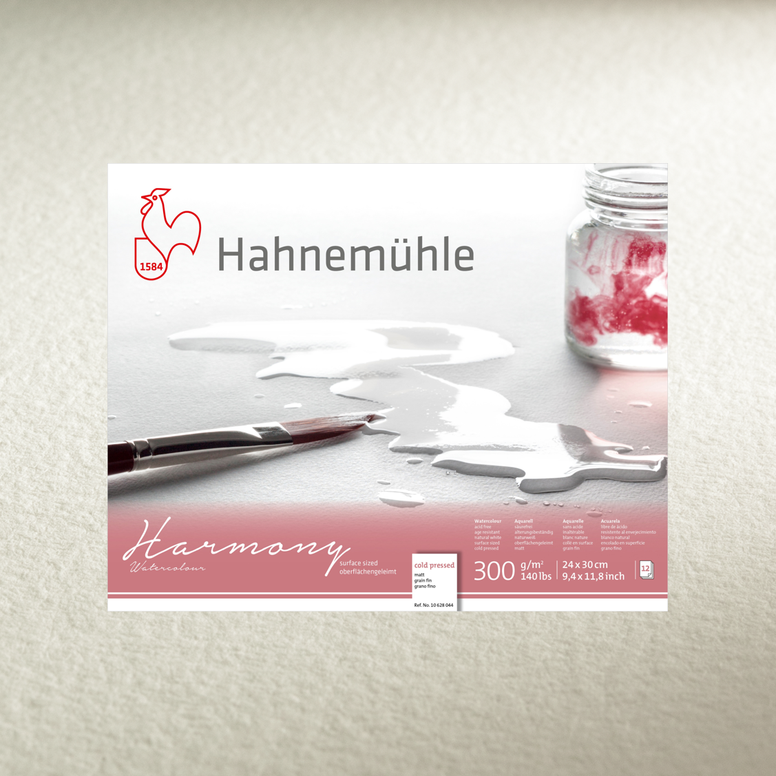 Hahnemühle 'Harmony' Watercolour Blocks - COLD PRESSED - 300gsm