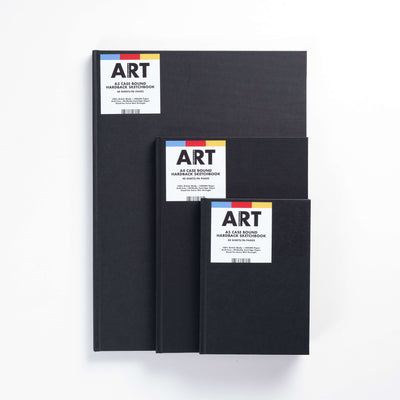 ARTdiscount Case-Bound Hardback Sketchbook - 46 Sheets - 140gsm