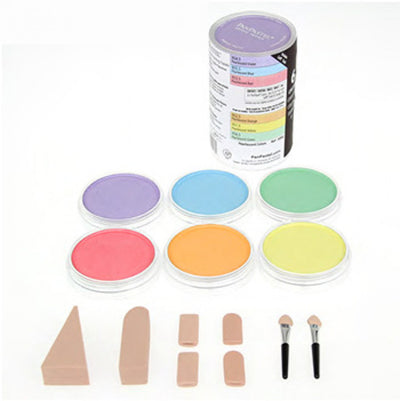 Pan Pastel Pearlescent Colours  - Set of 6