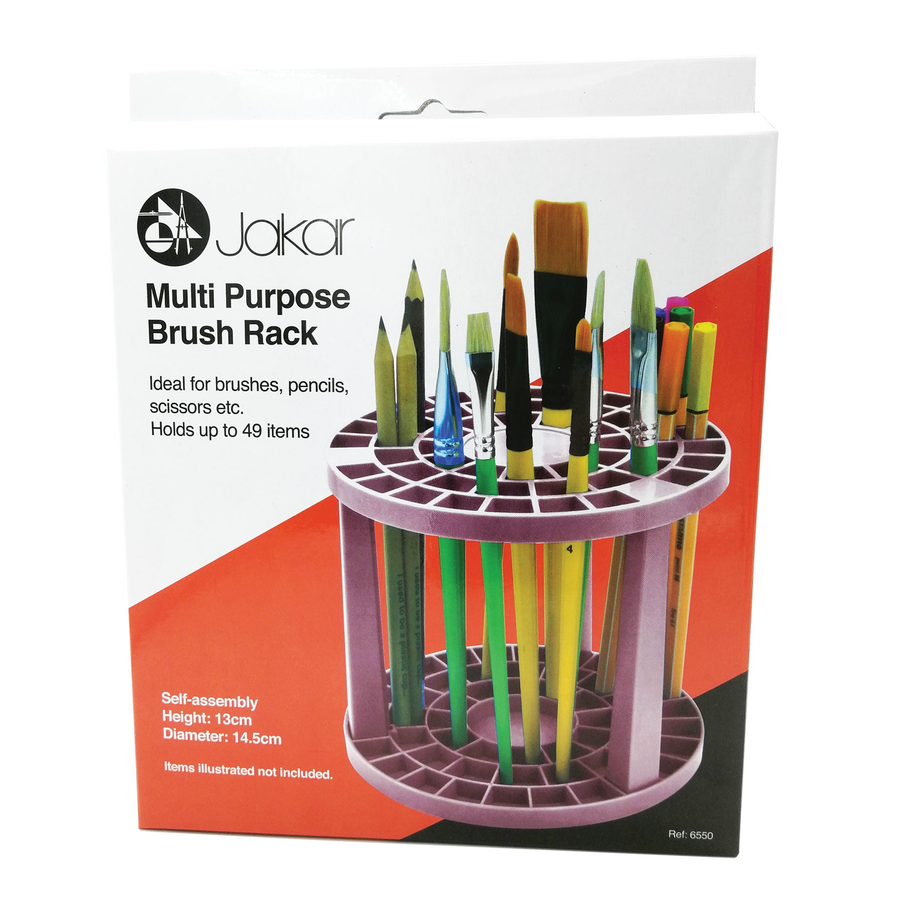 Jakar Multi-Purpose Brush Rack
