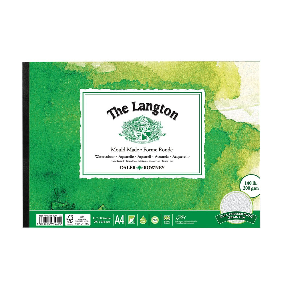 Langton Watercolour Pad 'NOT' (Cold Pressed)