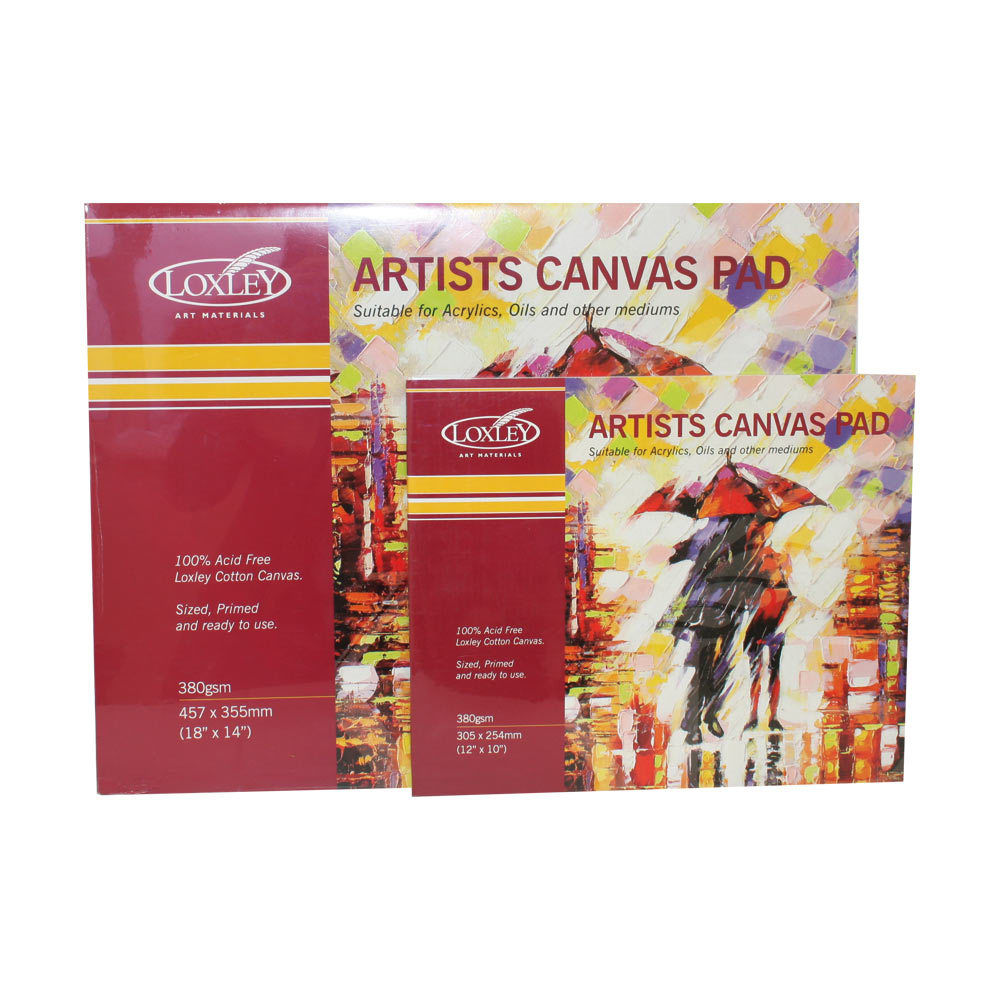Loxley Artists Canvas Pad