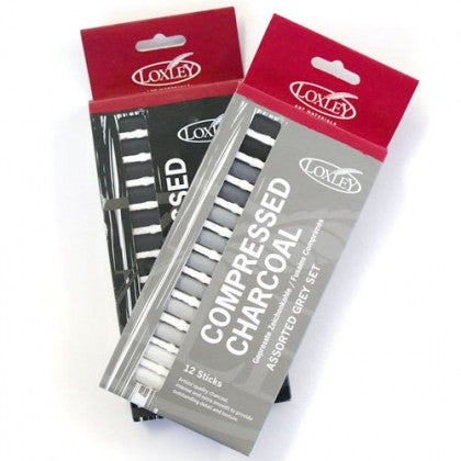 Loxley Compressed Charcoal Sets