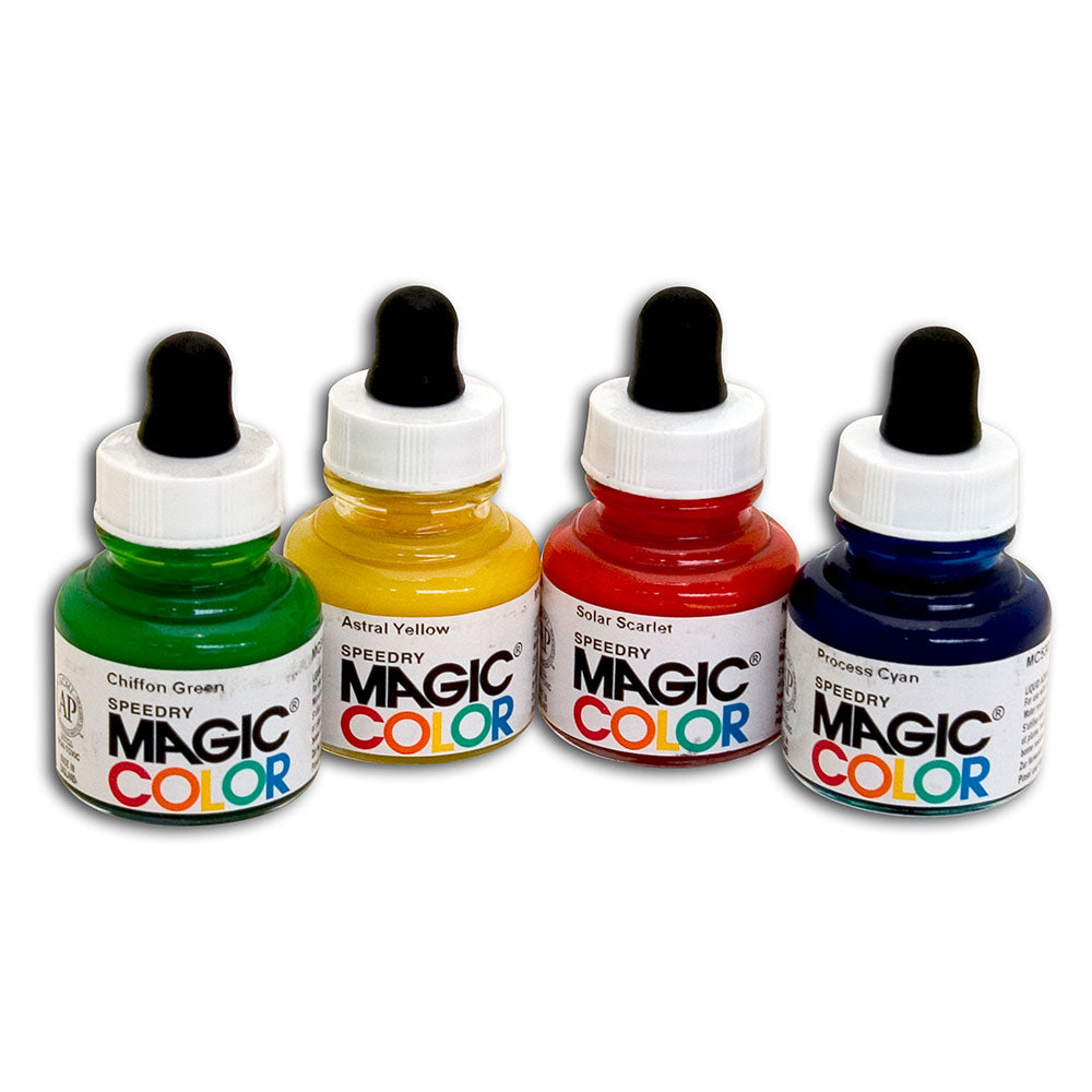MAGIC COLOR Liquid Acrylic Colours 28ml Jars