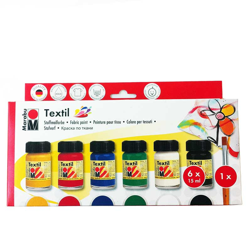 Marabu Textil Fabric Paint Set
